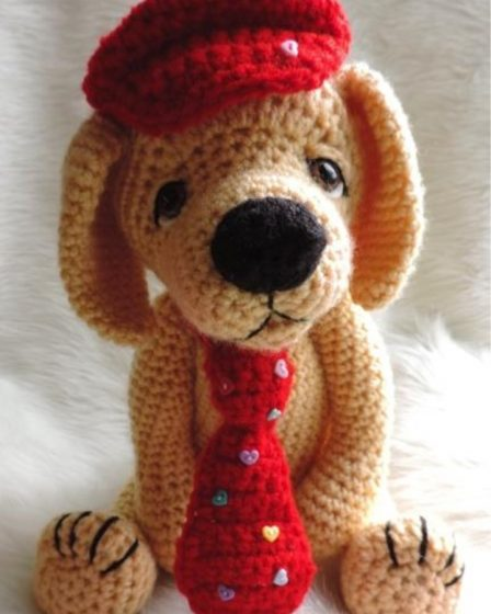 Amigurumi Little Dog Crochet Free Patterns - Crochet & Knitting | 560x448