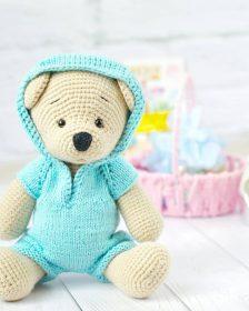 Cuddle Me Bear amigurumi pattern - Amigurumi Today | 280x224
