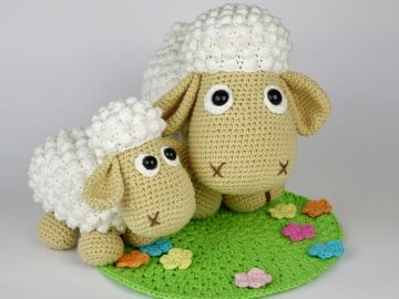 Free Pattern: Baby Lamb Farm Animal – Storyland Amis | 595x794