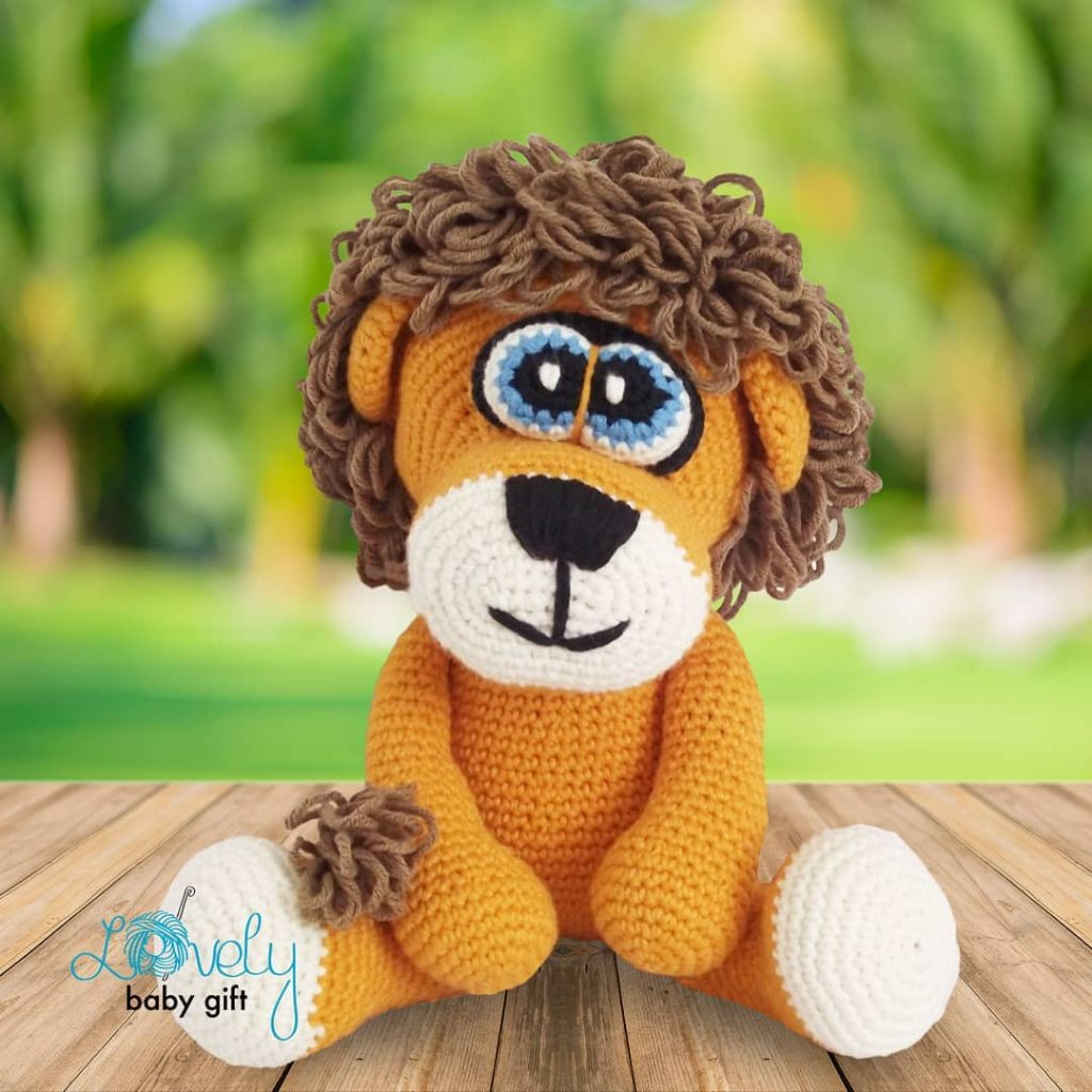 Crochet Lion Amigurumi Pattern - Free - Ami Amour | 1024x1024