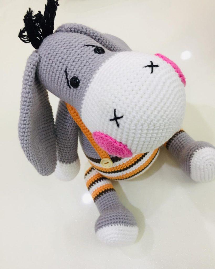 Pattern: Crochet Eeyore Pattern Amigurumi Donkey Pattern | Etsy | 1024x819