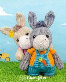 Ravelry: Diego the Donkey pattern by Carolyne Brodie | 280x224