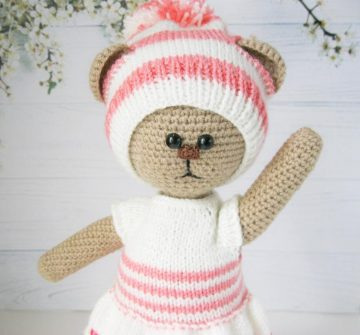 Baby Doll and Bassinet Free Crochet Patterns | 738x794