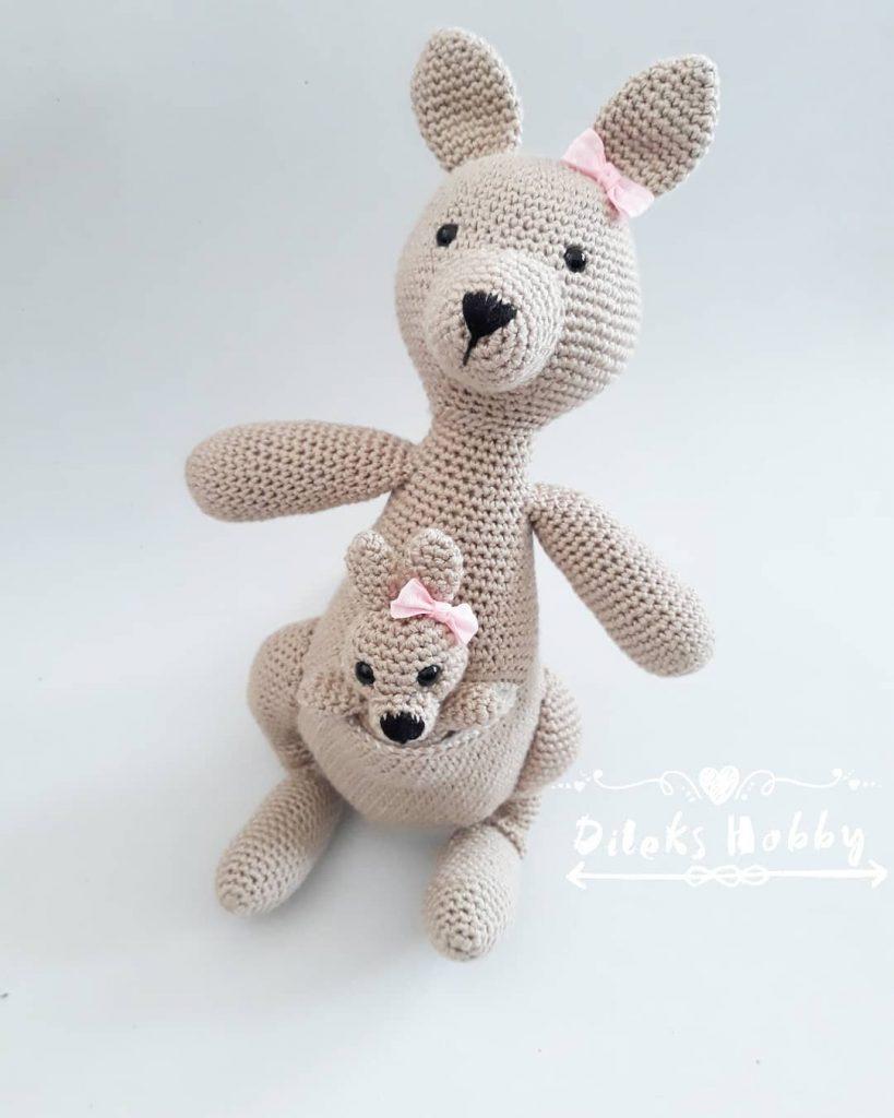crochet kangaroo | Crochet patterns, Crochet toys patterns ... | 1024x819