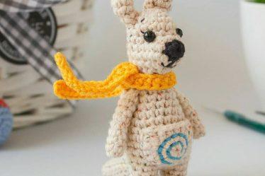 Kangaroo Amigurumi Pattern ⋆ Crochet Kingdom | 249x374