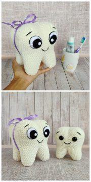 Free Tooth Fairy Crochet Pattern | Crochet dolls, Free crochet ... | 5120x2560