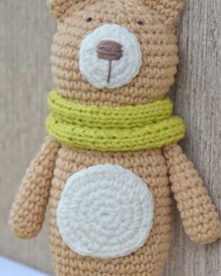 20+ Free Crochet Teddy Bear Patterns ⋆ Crochet Kingdom | 560x448