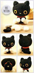 Playing Cats PDF Crochet Amigurumi Pattern - Little Bear Crochets | 300x143
